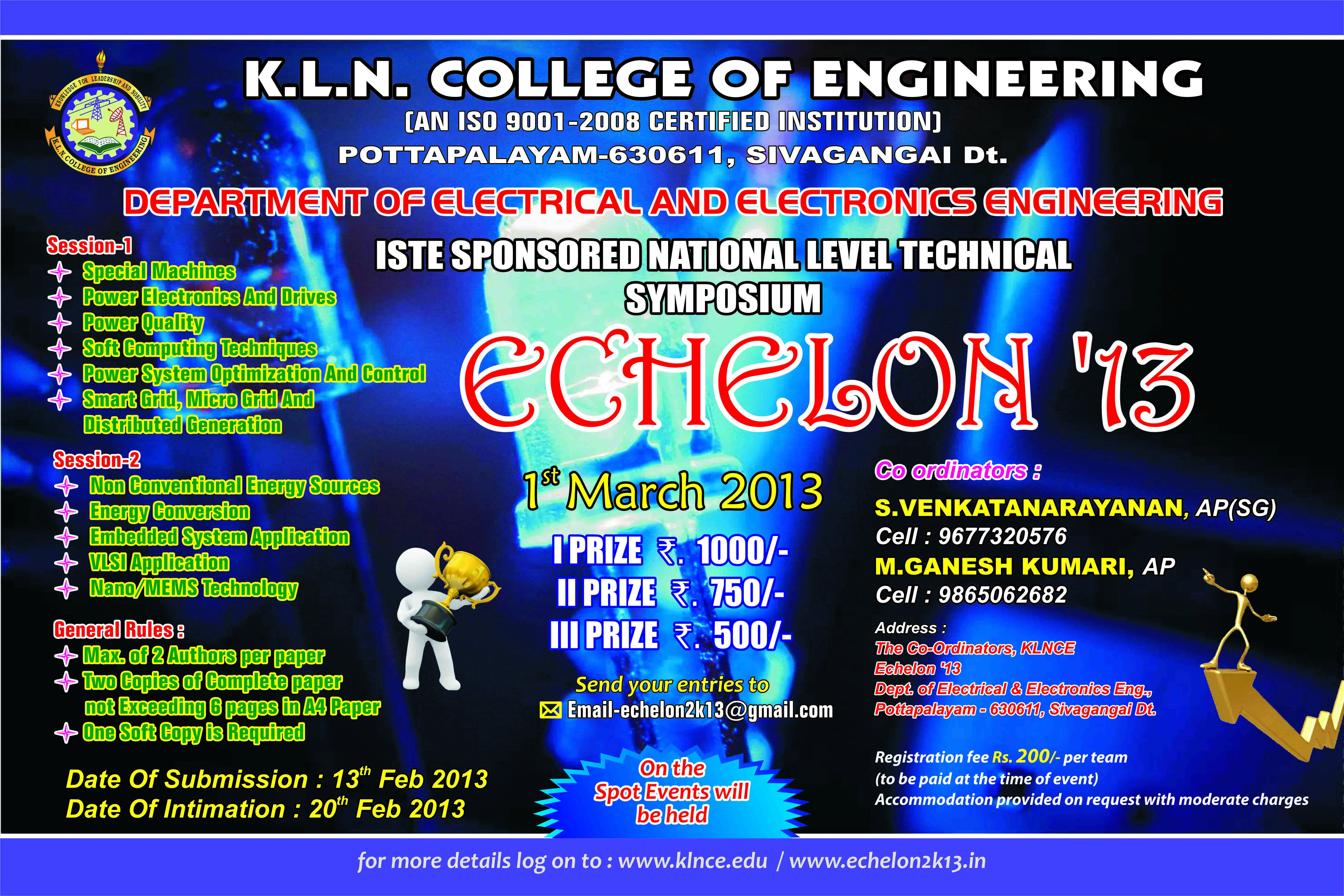 Kln College Of Engineering Klnce Electronics Mini Projects Free Seminar Topics 2016 272